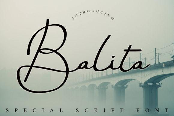 Balita Handwritten Font