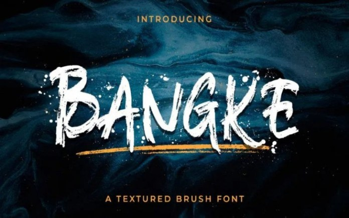 Bangke Brush Font