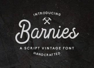 Barnie's Handwritten Font