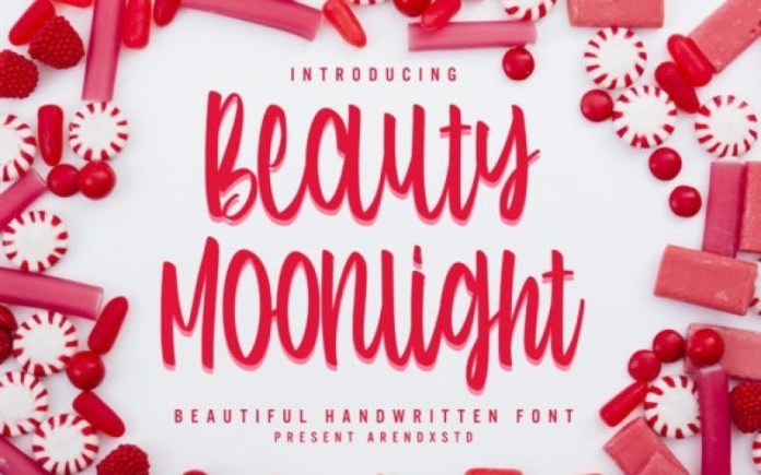 Beauty Moonlight Script Font