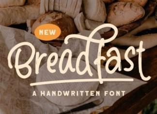 Breadfast Handwritten Font