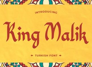 King Malik Display Font