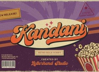 Kandani Bold Script Font