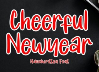Cheerful Newyear Display Font
