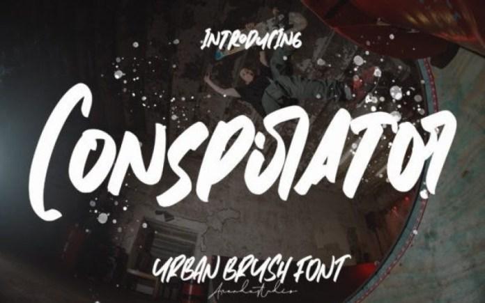 Conspirator Brush Font