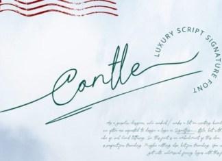 Contle Handwritten Font