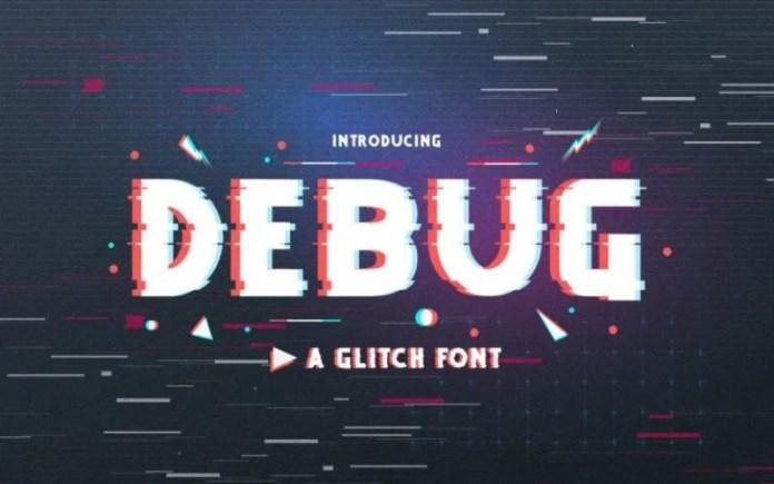 Debug Display Font