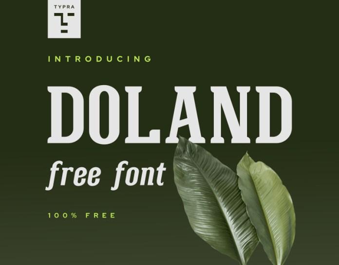 Doland Serif Font