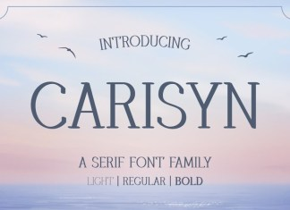 Carisyn Display Font