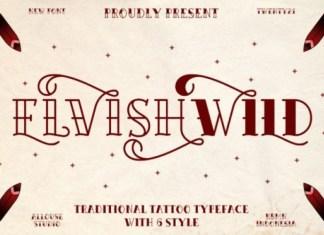 Elvishwild Display Font
