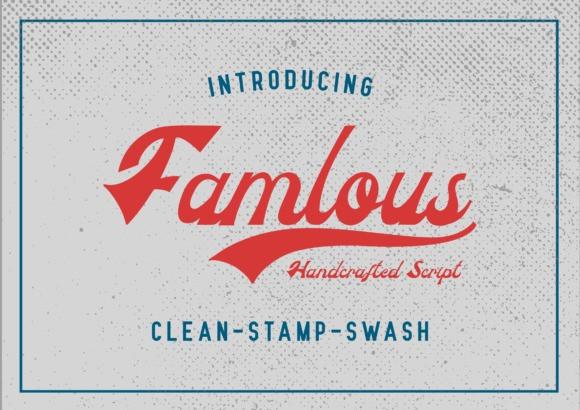 Famlous Script Font