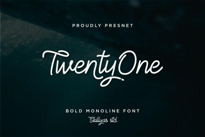 Twenty One Handwritten Font