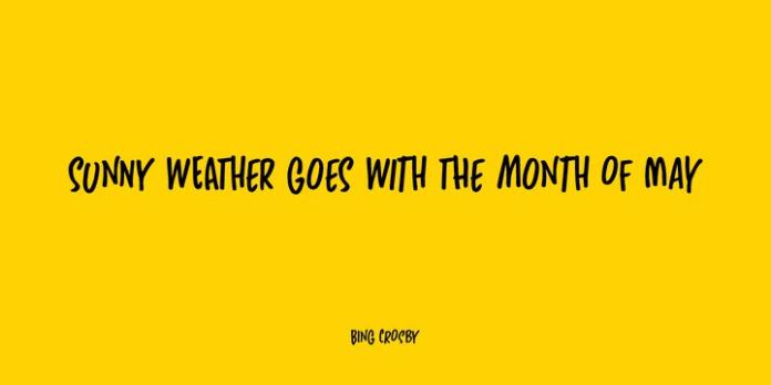 Sunny Weather Handwritten Font