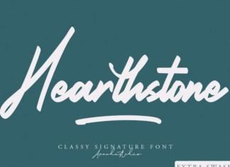 Hearthstone Script Font
