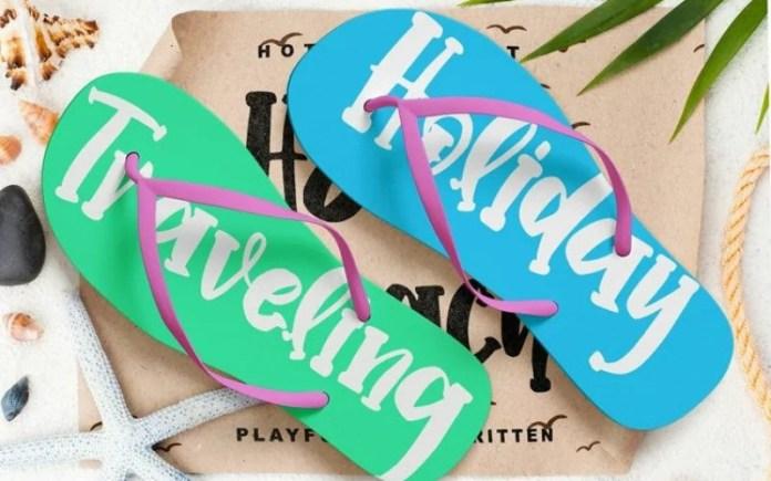 Hello Beach Display Font