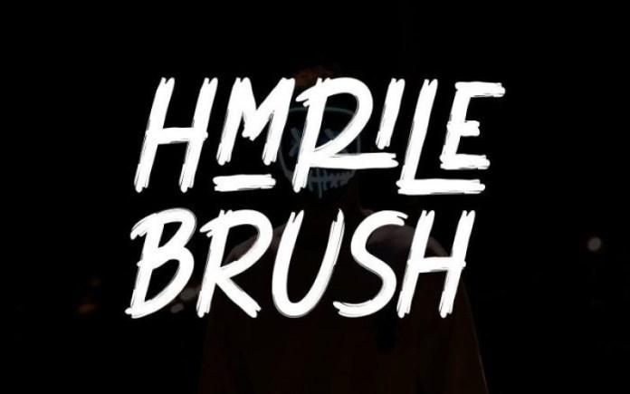 Hmrile Brush Font
