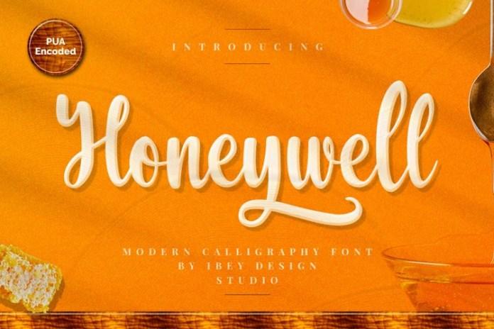 Honeywell Script Font