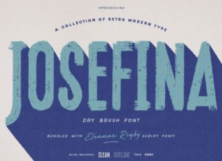 Josefina Display Font