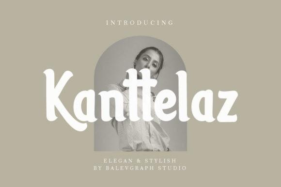 Kanttelaz Display Font