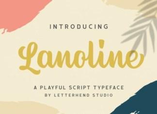 Lanoline Script Font