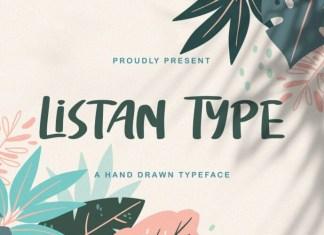 Listan Type Display Font