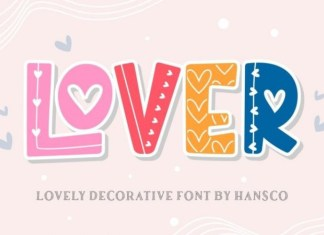 Lover Display Font
