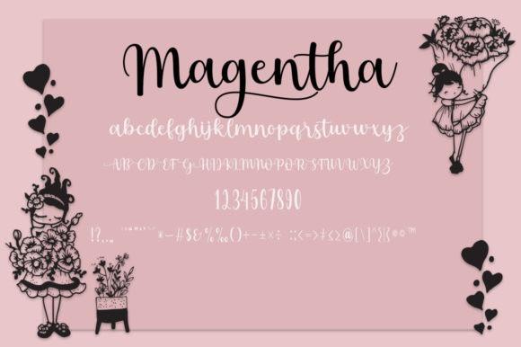 Something Magentha Font Duo