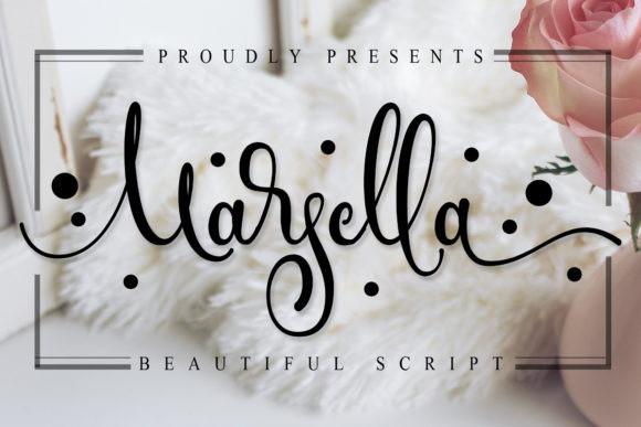 Marsella Calligraphy Font
