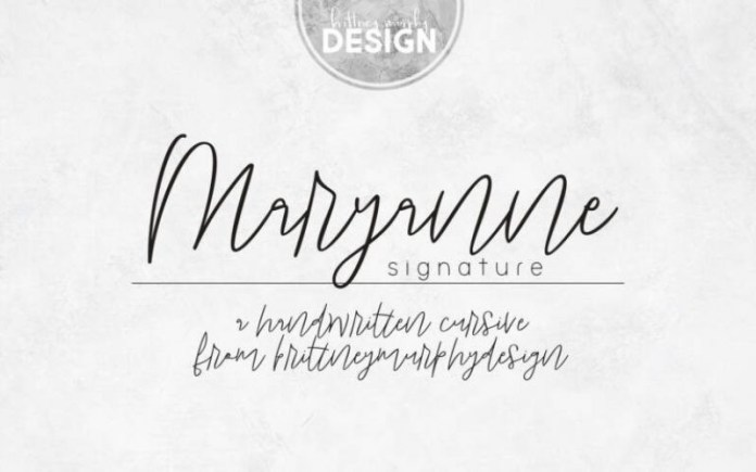 Maryanne Handwritten Font