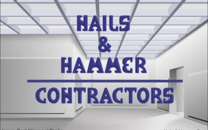 Nails & Hammer Display Font