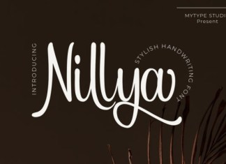 Nillya Script Font