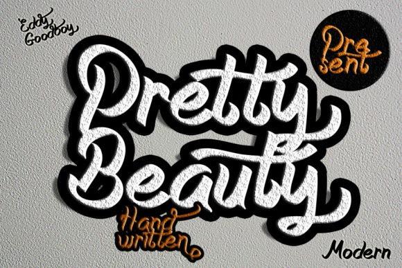 Pretty Beauty Script Font