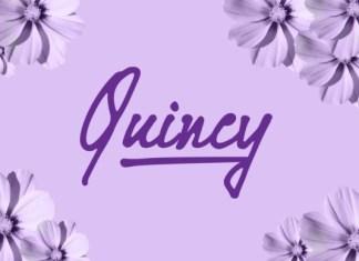 Quincy Handwritten Font