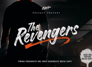 The Revengers Brush Font