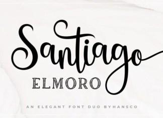 Santiago Elmoro Calligraphy Font