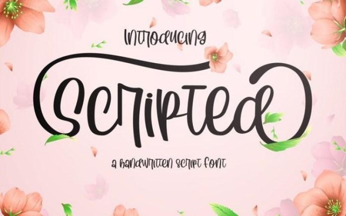 Scripted Script Font