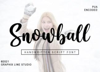 Snowball Script Font