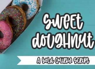 Sweet Doughnut Brush Font