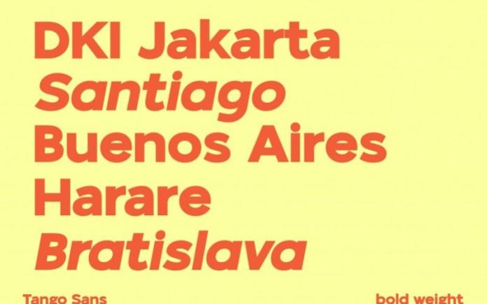 Tango Sans Serif Font