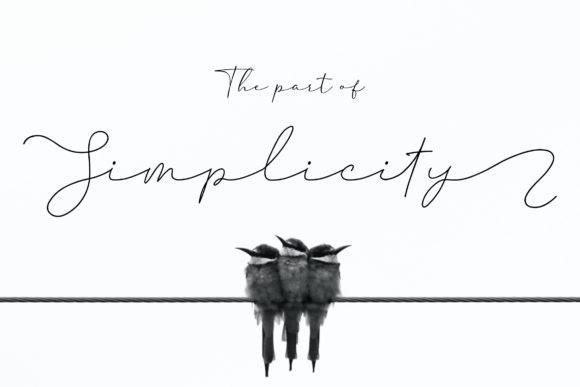Thampholine Handwritten Font