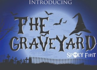 The Graveyard Display Font