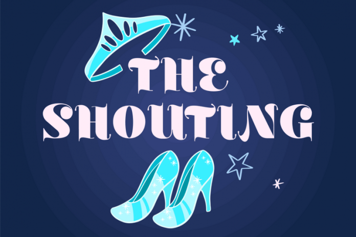 The Shouting Display Font