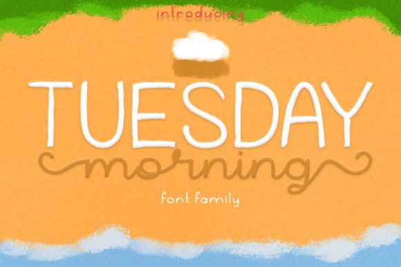 Tuesday Morning Script Font