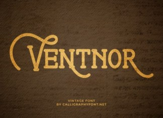 Ventnor Display Font