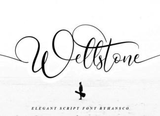 Wellstone Calligraphy Font