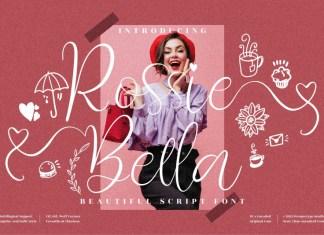 Rossie Bella Calligraphy Font