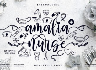 Amalia Nurse Script Font