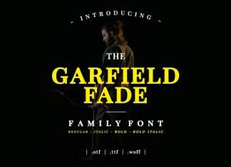 Garfield Fade Serif Font