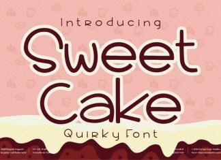 Sweet Cake Display Font
