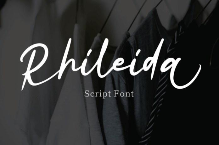 Rhiledia Handwritten Font